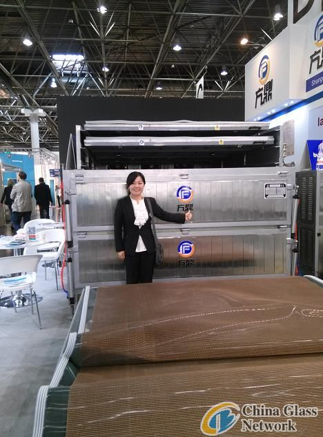 EVA glass lamination machine for tempered laminated glass