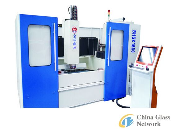 CNC Shaped Glass Processing Center
