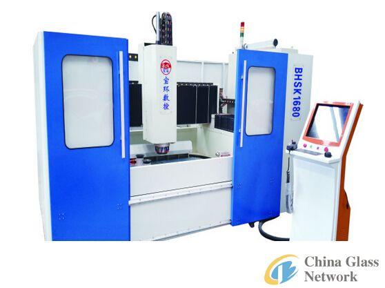 CNC Shaped Glass Processing Center