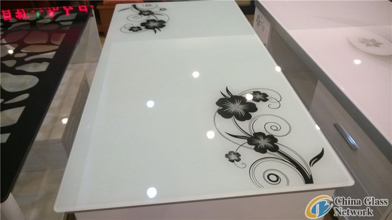 silk printing tabe glass