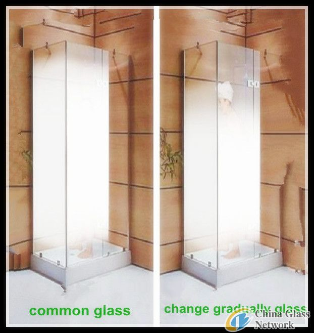Gradient change glass made in china