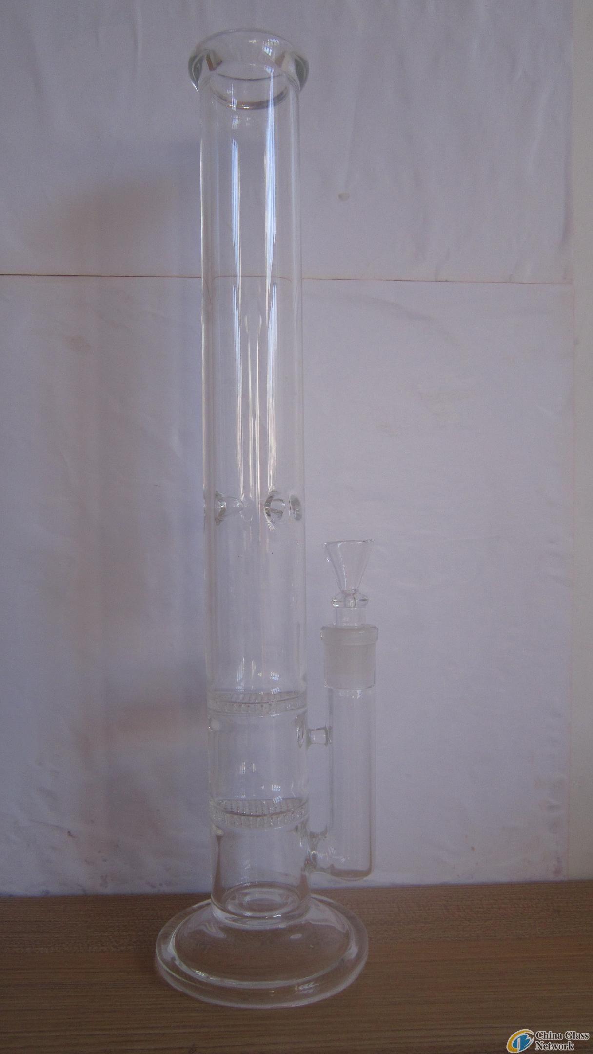 bong 2 layer mesh filter water pipe
