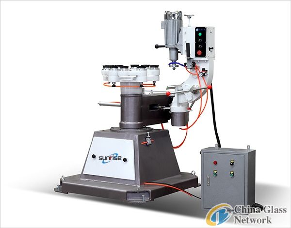 Glass shaped edging machine