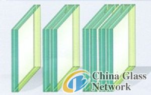 10.38mm laminated glass for curtain walls