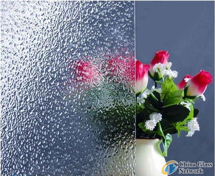 Full silk pattern tempered glass for background walls, furniture, showroom