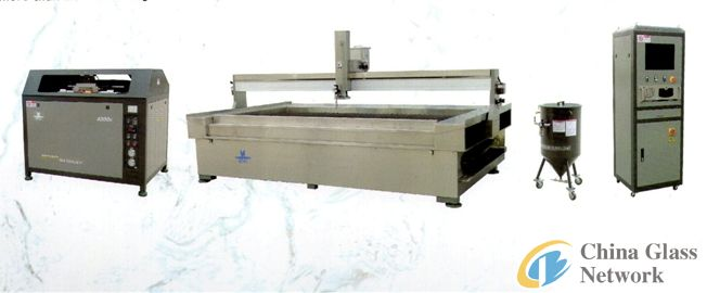High Pressure Waterjet Machine