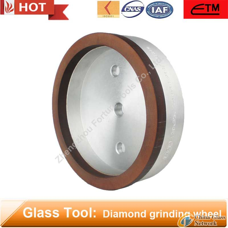 Resin bond diamond cup grinding wheel for glass