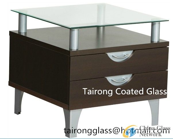 desk glass top tempered glass