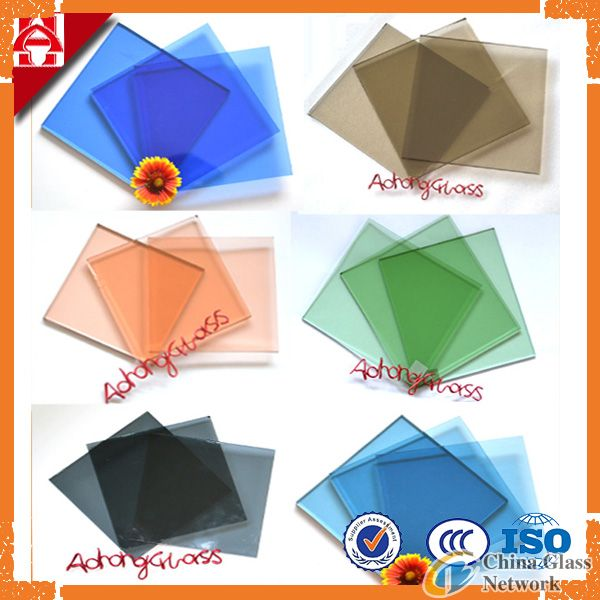 Colored Float Glass (Bronze, Green, Blue, Grey & Pink)