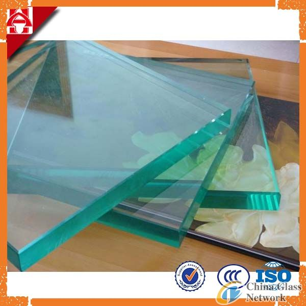 Clear Float Glass with Thickness 15mm 19mm
