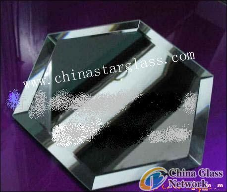 4mm bevelled silver mirror
