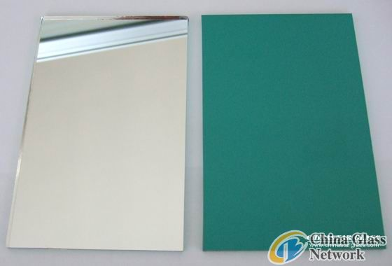 4.5mm factory of silver coating float mirror