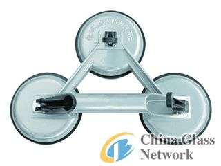 Aluminum Alloy Triple Suction Cup Lifter