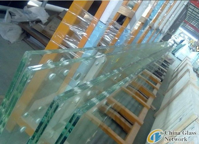 Super thick 12mm15mm19mm laminated glass