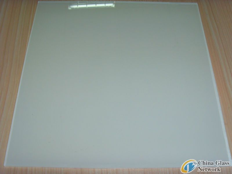 Milk White Painted Glass with CE ISO 9001