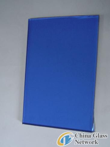 4mm 5mm 6mm Building Colored Dark Blue Reflective Glass