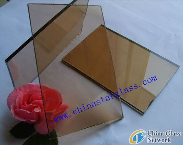 5mm 6mm Bronze Auto Grade Tinted Float Glass