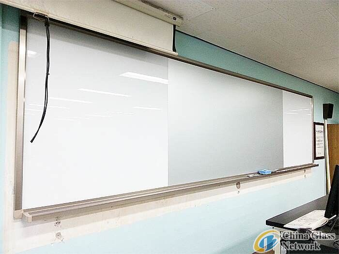 Clear Acid Etched Coated writing board glass