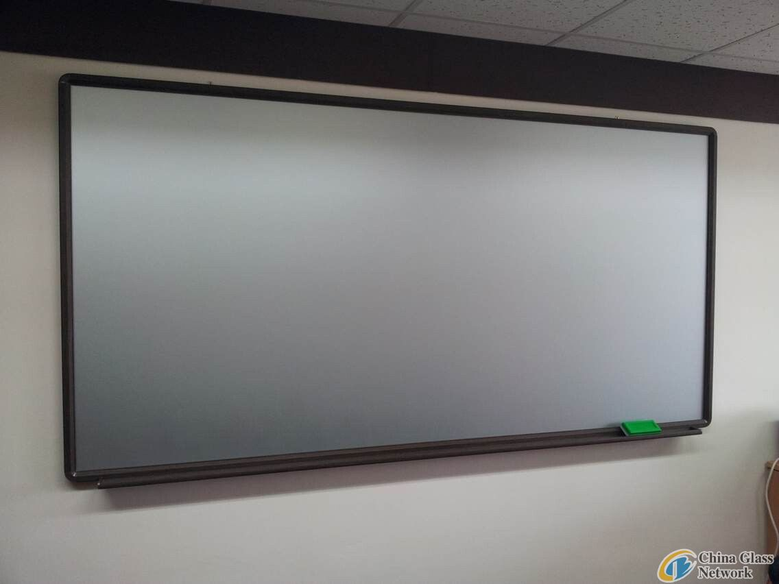 6mm clear coated writing board glass