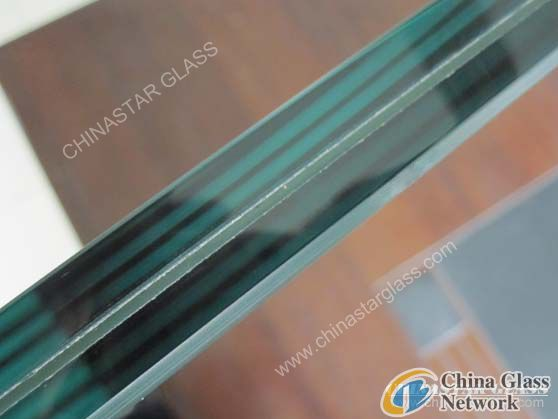 Ford Blue Laminated Glass