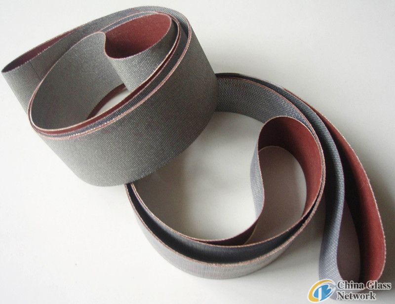 diamond sanding belt for glass