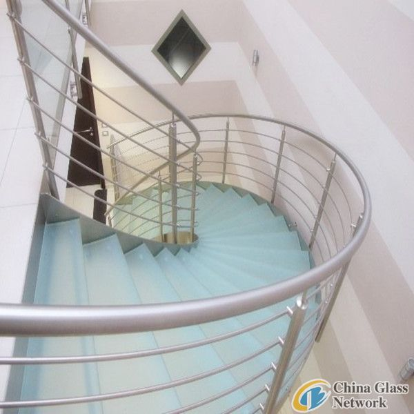 8mm+1.52SGP+8mm Tempered Laminated Glass stairs