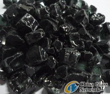 12mm Black fireglass