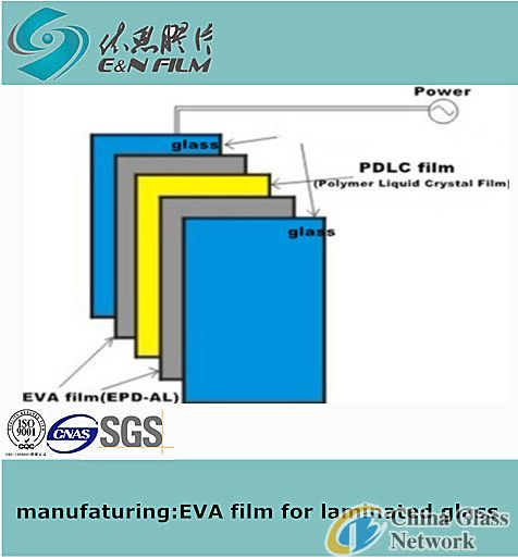 E&N EN-AL EVA film for smart glass