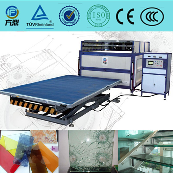 autoclave free Fangding EVA laminated glass machine for safety glass lamination