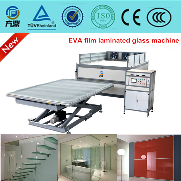 CE approved laminated glass machine for safety glass