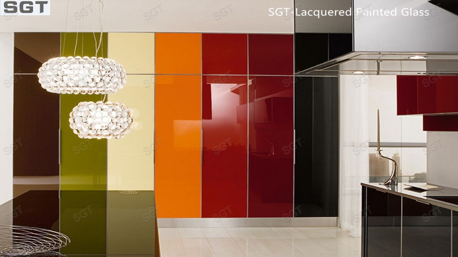 Lacquered Glass &Painted Glass