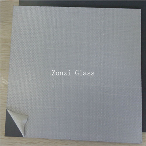 2mm-6mm Clear Float Glass Safety Mirror with Vinyl Back