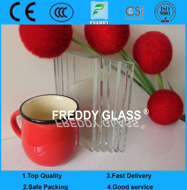 Hot Sale 8mm Low Iron/ Extra Clear / Ultra Clear Float Glass with CE