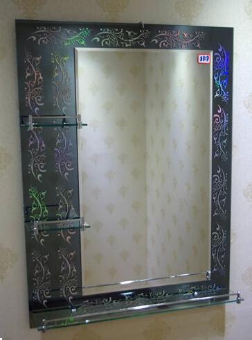 Rectangle Bathroom Silver Mirror
