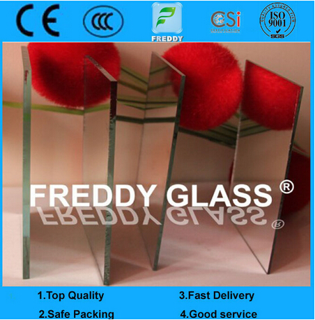 2-6mm Clear Aluminum Mirror with Different Thickness /Bathroom Mirror/Decorative Mirror