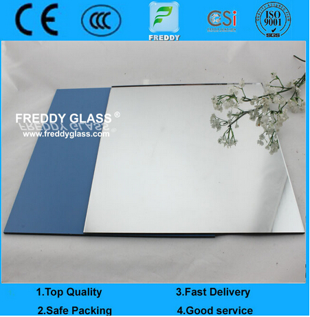 2mm, 3mm, 4mm, 5mm and 6mm CE&ISO Certificate Silver Mirror, Aluminum Mirror