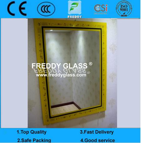2-6mm Bevelled Mirror/5mm Silver Mirrors/Glass Mirror