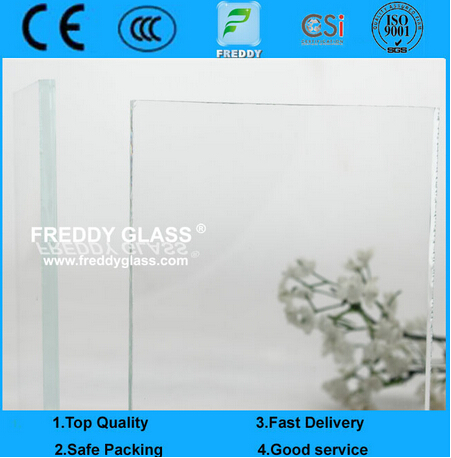 3.2-19mm High Quality Low Iron/Ultra Clear Float Glass/Super White Glass