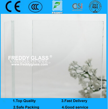 6mm Ultra Clear Float Glass & Low Iron Float Glass & High Transparent Glass