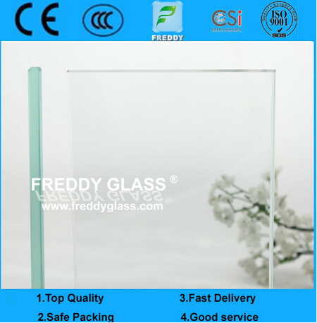 8mm Top Quality with CE and ISO9001 Clear Float Glass & Build Glass & Clear Annealed Glass & Auto Gl