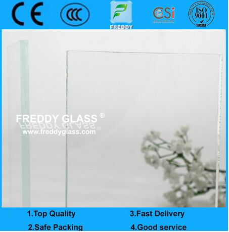 8mm Low Iron Float Glass/Ultra Clear Float Glass with CE Certificate