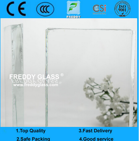 15mm Low Iron Float Glass / Ultra Clear Float Glass/Super White Glass