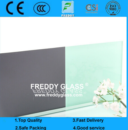 3mm Light Green Paint Glass/Painted Glass/Coated Glass/Lacquered Glass/Art Glass/Decorative Glass