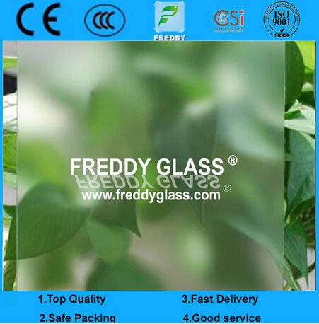 1220*1830mm Acid Etching Glass/ No Finger Mark Proof Excellent Acid Glass