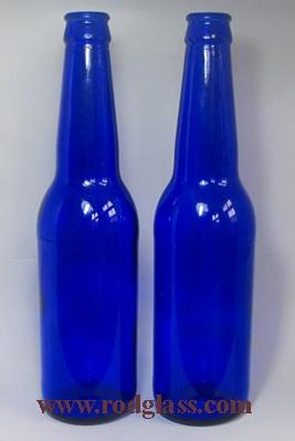 cobalt beer glass bottle of 330ml