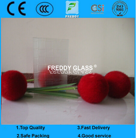Clear Wired Well Decorative Glass/ Art Glass/ Building Glass
