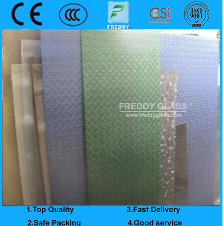 Patterned Glass/Colored Patterned Glass/Bathroom Glass