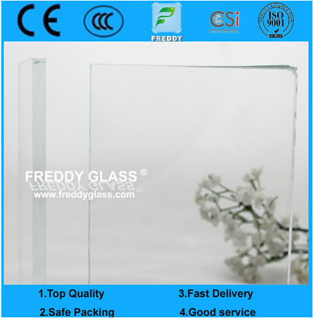 10mm Low Iron/ Extra Clear / Ultra Clear Float Glass with CE Certificate