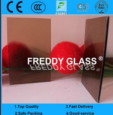 3.0mm bronze Nashiji Patterned Glass/ Decorative Glass