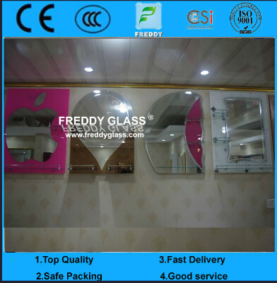 2mm, 3mm, 4mm, 5mm and 6mm CE&ISO Certificate Silver Mirror, Aluminum Mirror, Copper Free and Lead F
